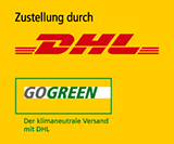 Klimafreundlicher Versand mit DHL GO GREEN