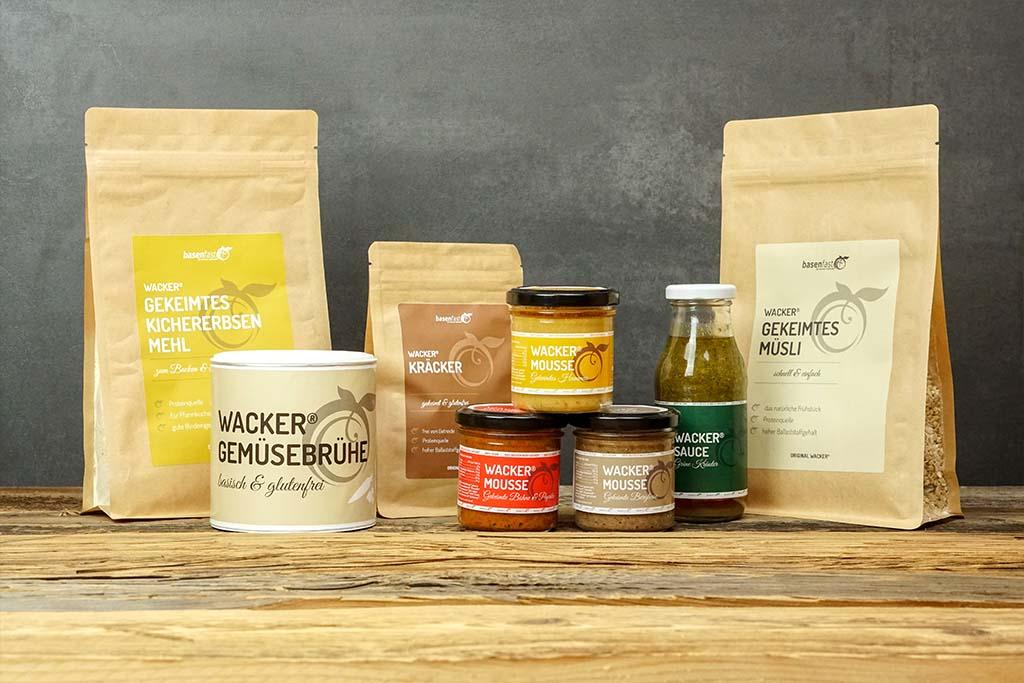 Basische Lebensmittel: unsere Wacker Produkte
