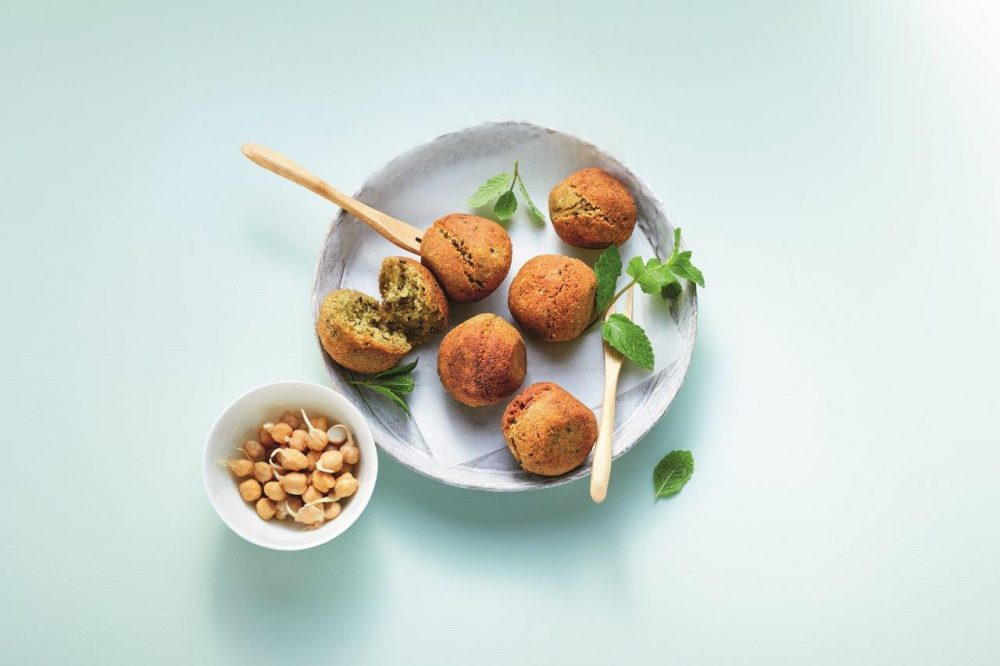 Kichererbsen-Falafel