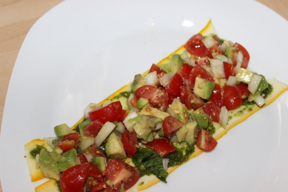 Avocado-Tomaten-Füllung