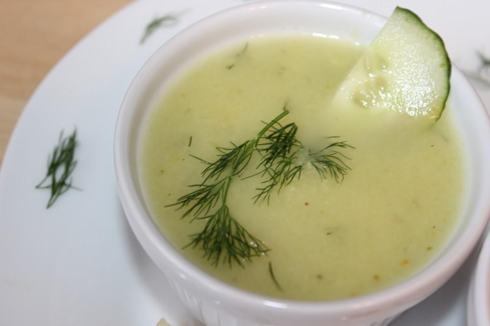 kalte basische Gurkensuppe - Gazpacho