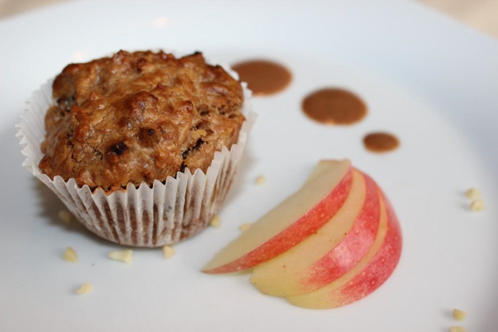 basische Mandel-Muffins