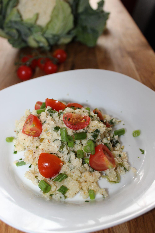 Basischer Couscous-Salat ohne Couscous