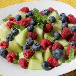 basenfasten, Sommer, Melone, Beeren, basisch