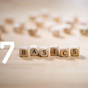 Die 7 Basics des basenfastens