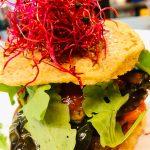 Mediterraner Kichererbsen-Burger
