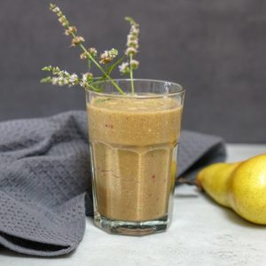 Stachelbeer-Birnen-Smoothie