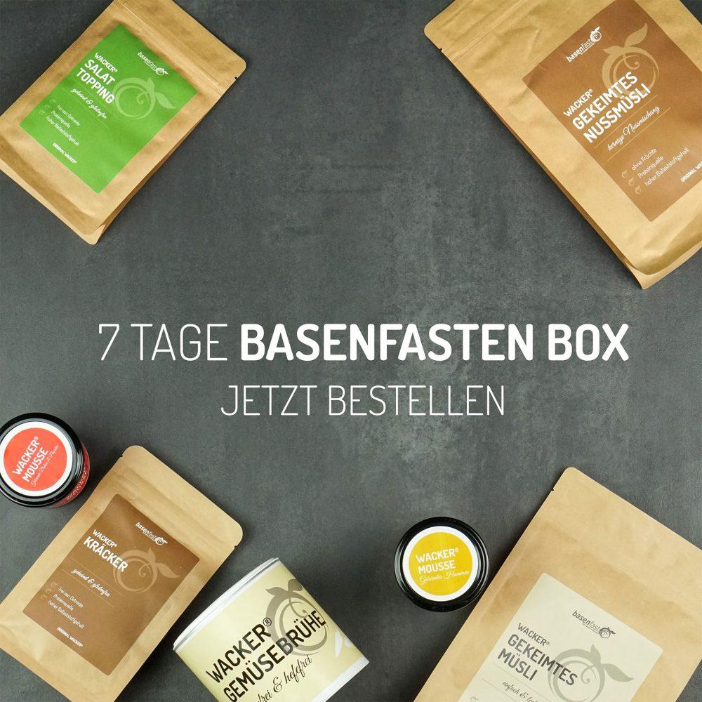 7 Tage basenfasten Box jetzt bestellen