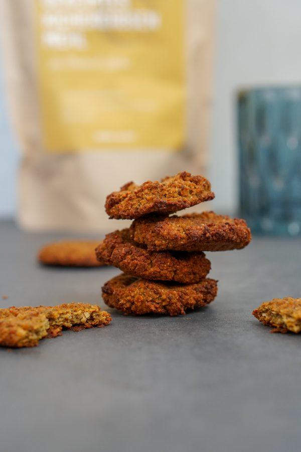 Kürbis Mandel Cookies