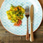 Herbstliches Gemüsecurry mit gekeimter Süßlupine