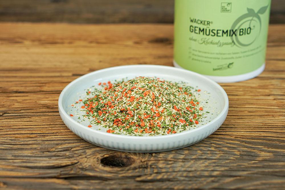Wacker Gemüsemix ohne Kochsalzzusatz Bio
