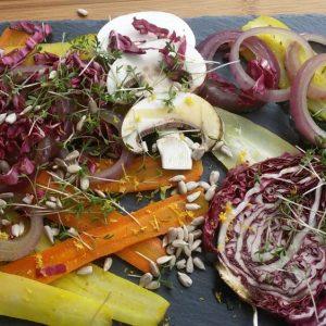 Basisches Gemüse-Antipasti
