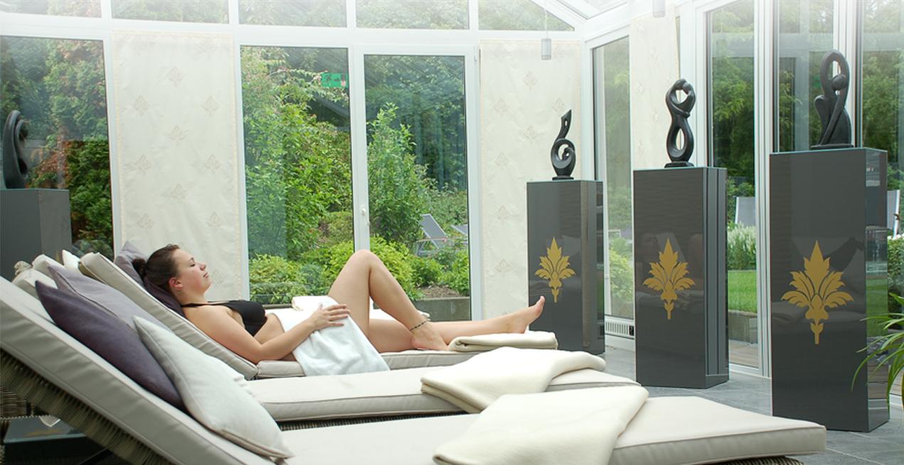 Ruheraum im Wellness-Bereich des Haus Becker in Bad Laer