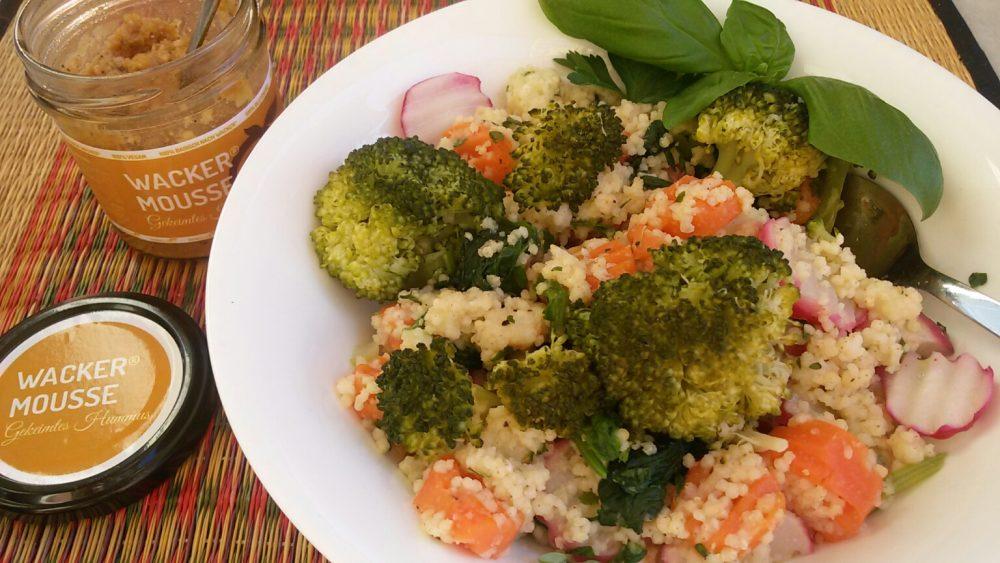 Hirsesalat mit Wacker Mousse