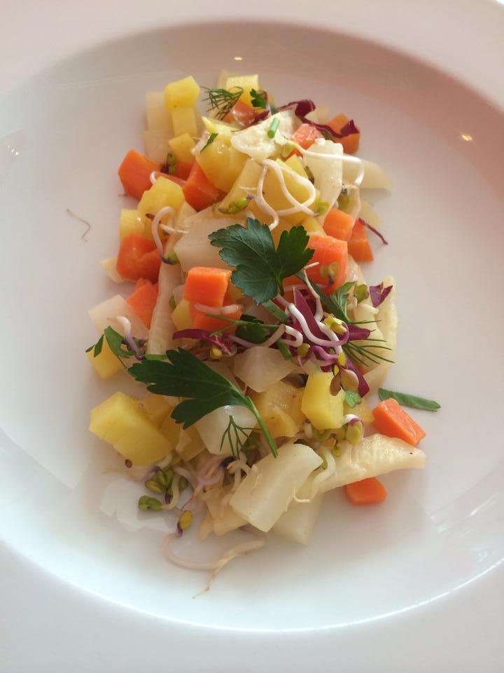 basisches Gemüsegericht