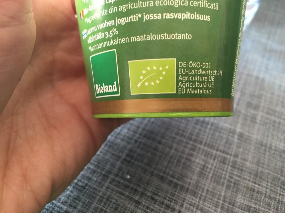 EU-Biosiegel und Bioland-Siegel