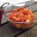 Sweet & Spicy Tomatensalsa (basisch)