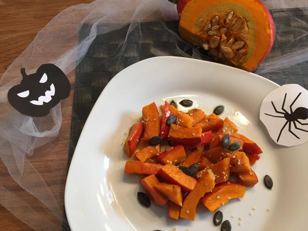 basischer Halloween-Snack