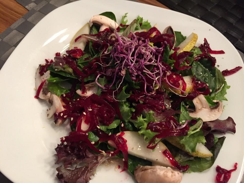 Basischer Salat nach Wacker
