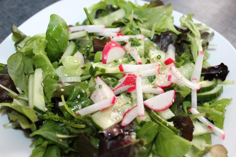 basischer Salatteller