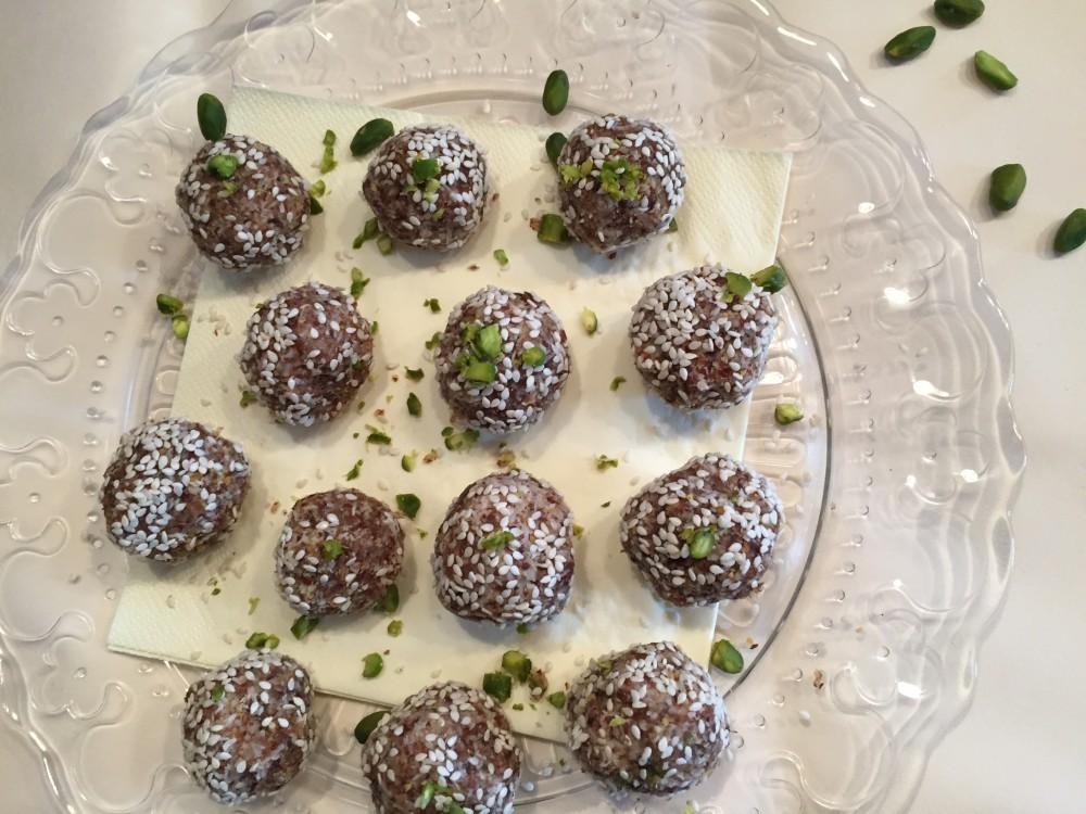 Sweet Almond Kiss - basische Pralinen