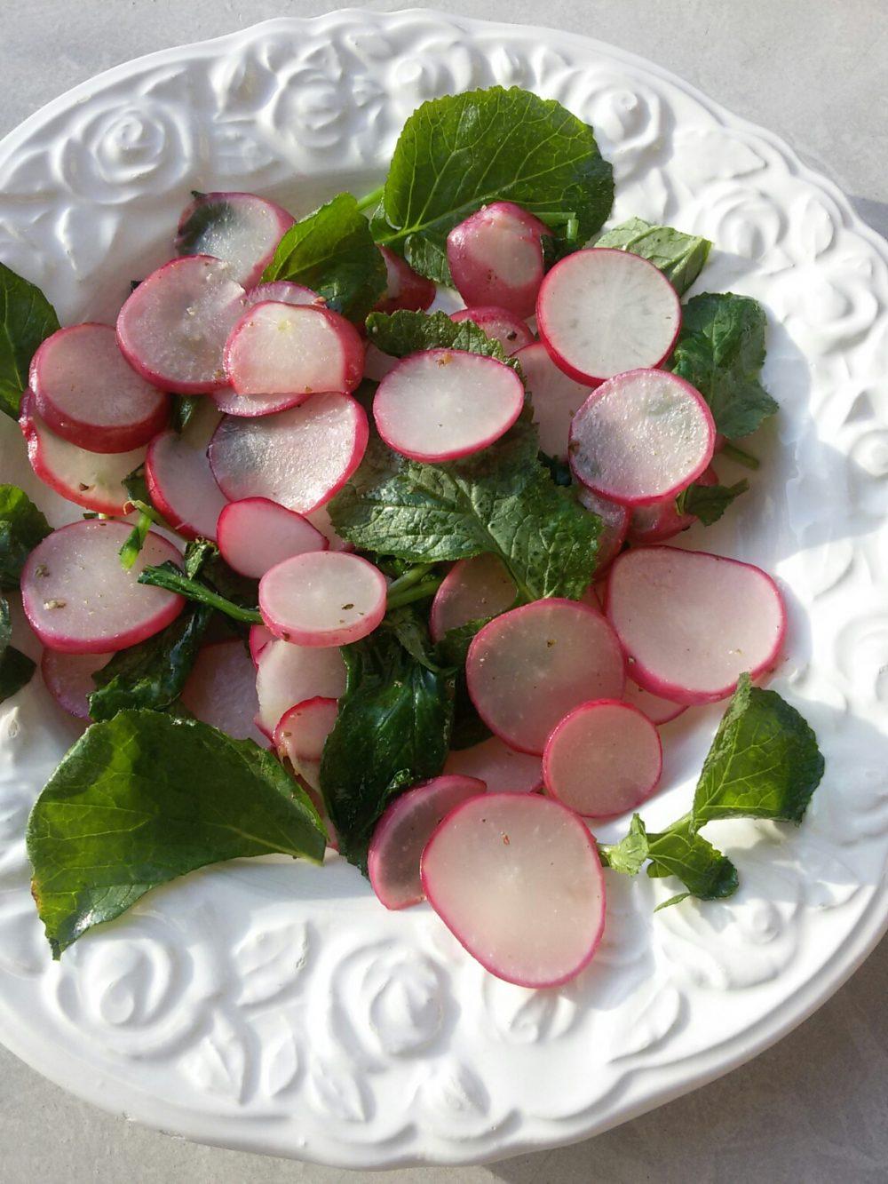Frühlings-Radieschensalat