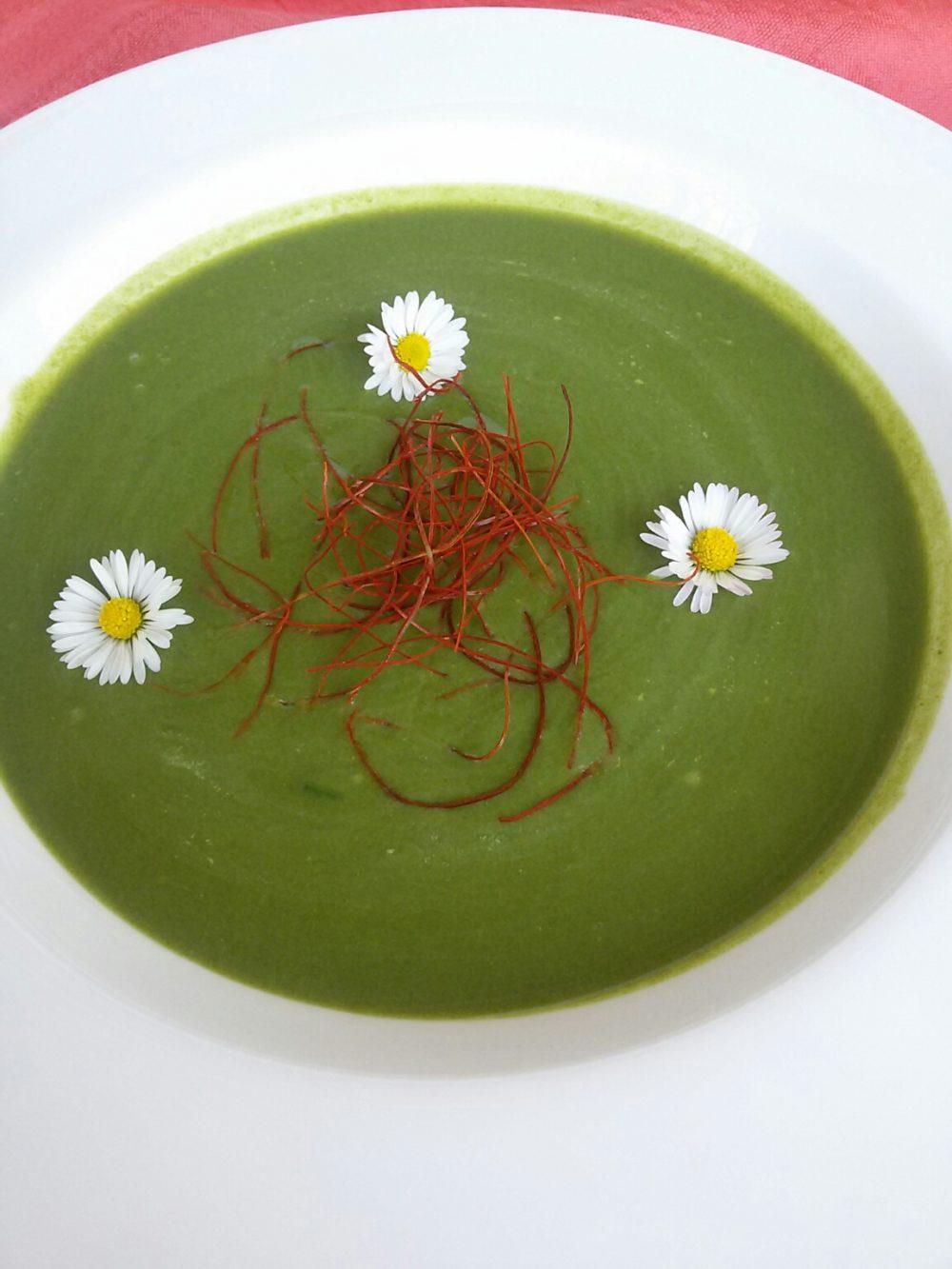 Spinat-Kartoffel-Kokos-Suppe