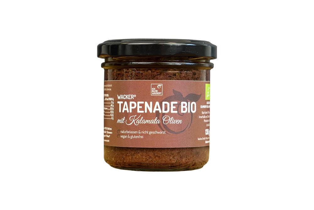 Wacker Tapenade Bio mit Kalamata Olive