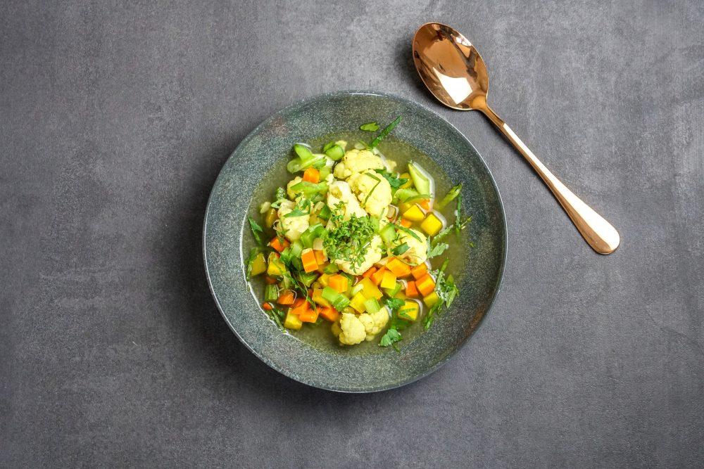 Basische Suppe: Wackerer Gemüseeintopf