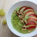 Smoothie-Bowl, Obst, basenfasten, Avocado, basenreich