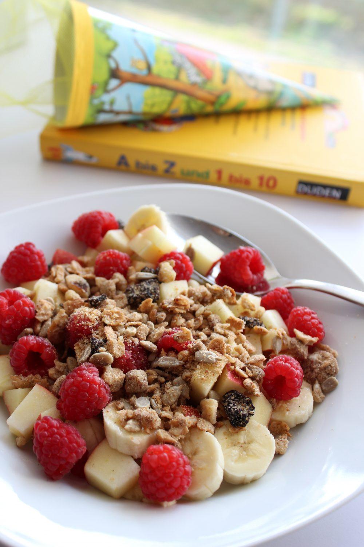 Frühstück, Kinder, basisch, Müsli