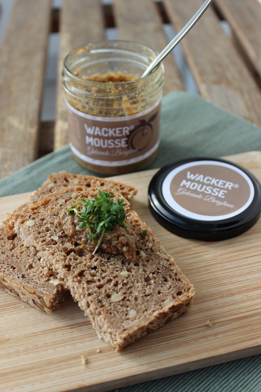 Wacker, basenfasten, Mousse, Brot