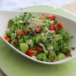 Brokkoli, Ernte, Garten, basenfasten