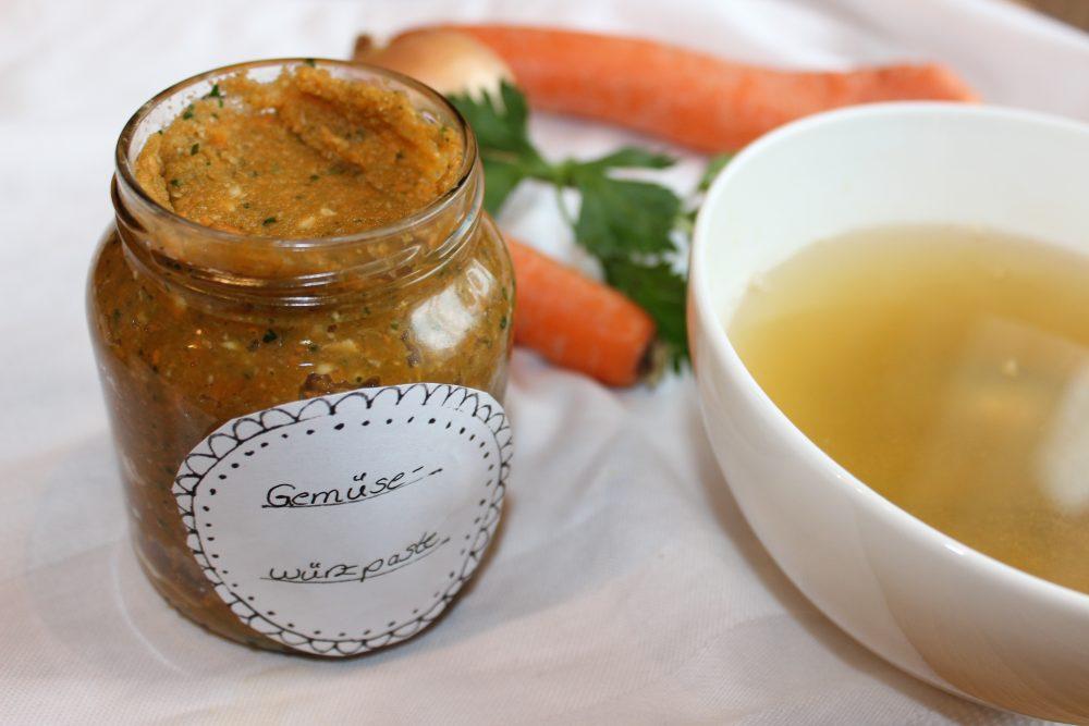 Basische Gemüsewürzpaste selber machen