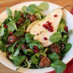 basenfasten deluxe, Salat, Sumach, Granatapfel