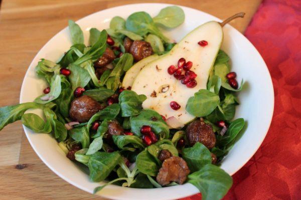 Hirschkolben und Mausohrsalat
