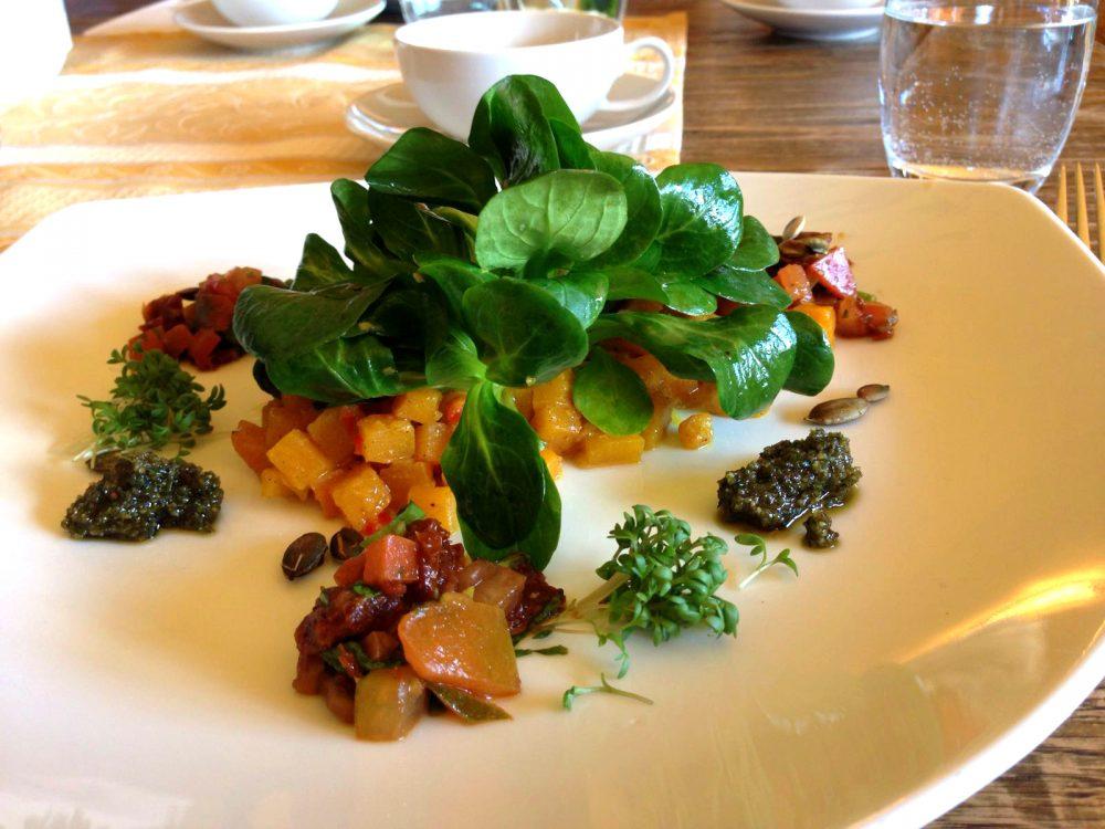 basischer Salat im Garmischer Hof