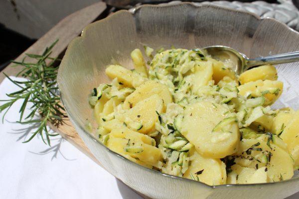 Kartoffel-Zucchini-Salat
