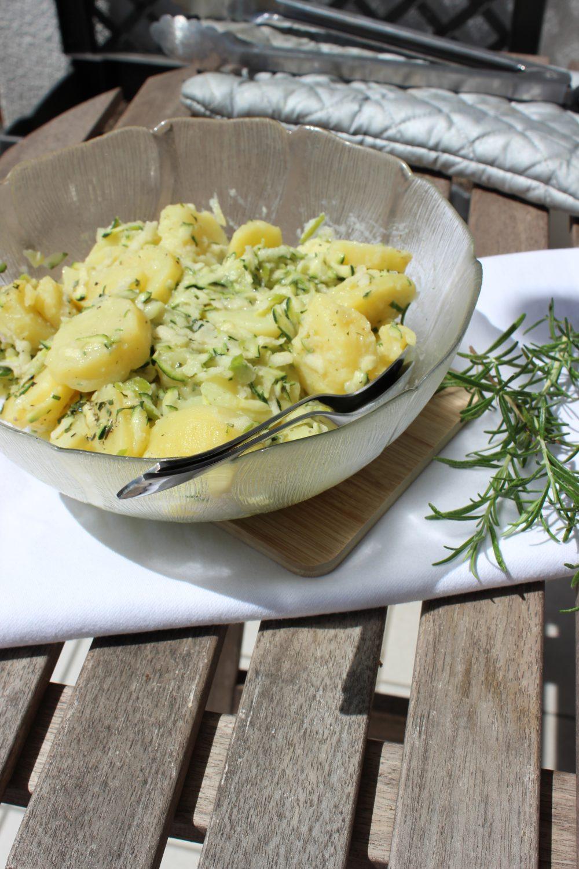 Grillen, basenfasten, Sommer, Kartoffelsalat