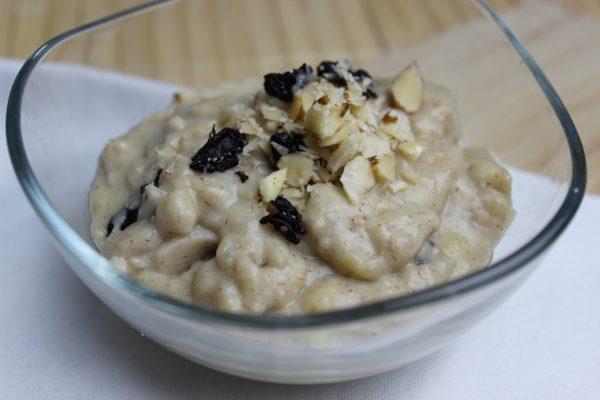 Kirsch-Nuss-Porridge