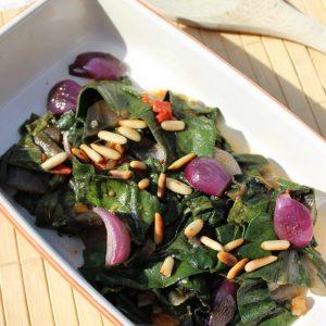 Auflauf, Gemüse, Mangold, basenfasten