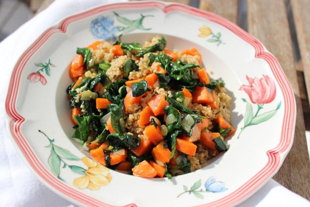 basenreich, Wacker, Quinoa, Gemüse