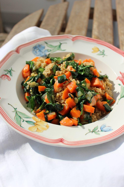 basenreich, Quinoa, Karotten, Gemüse