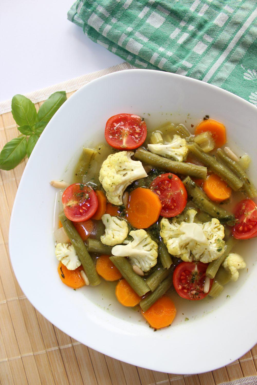 basenfasten, Minestrone, Gemüse, Garten