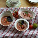 Sommer, basenfaasten, Gazpacho, Erdbeeren, orellenhof