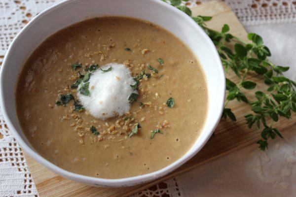 Steinpilz-Maronencreme-Suppe