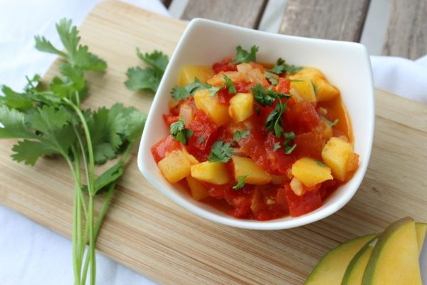 Mango-Tomaten-Salsa