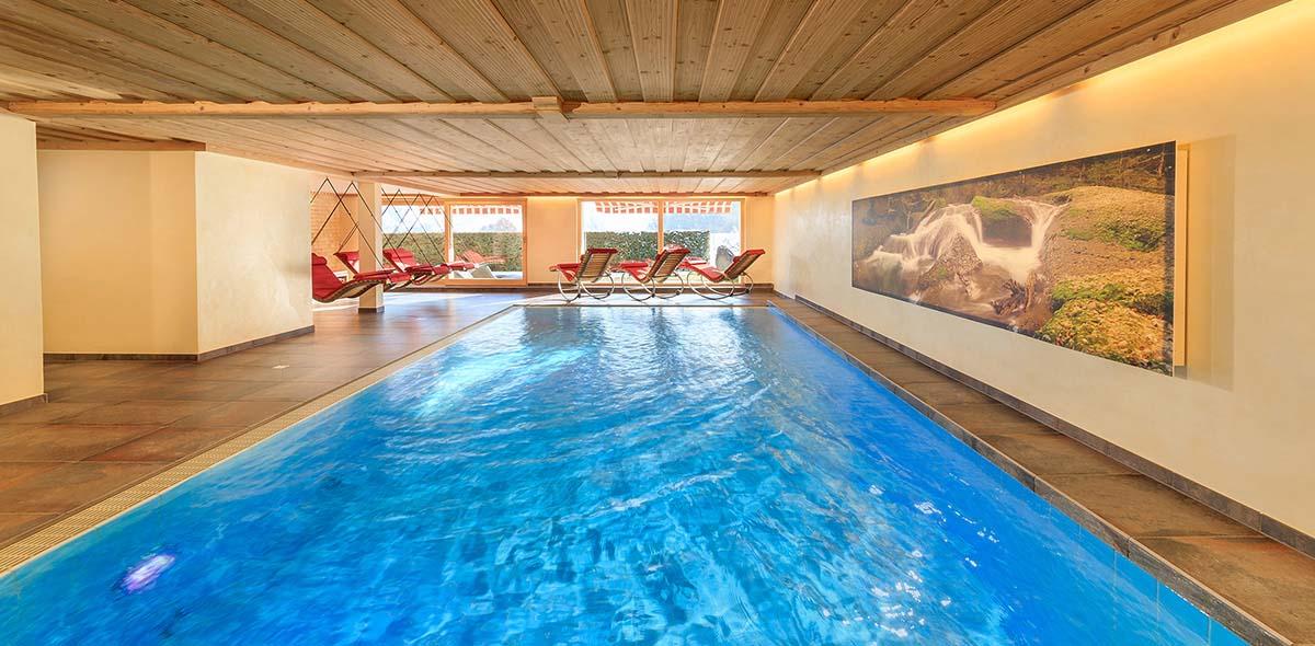 Pool im Natur-Landhaus Krone